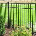 Bronze Aluminum Fence
